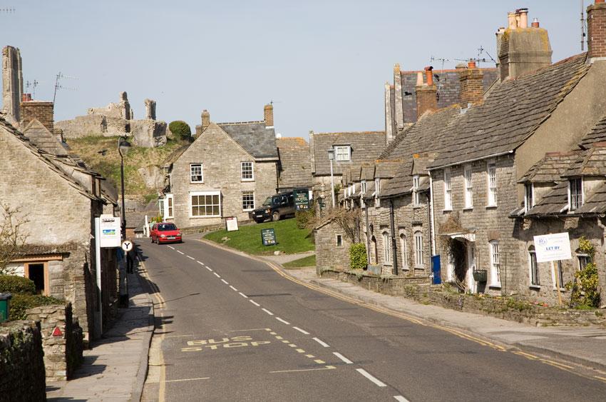 Corfe Castle East Street Photos Of Dorset
