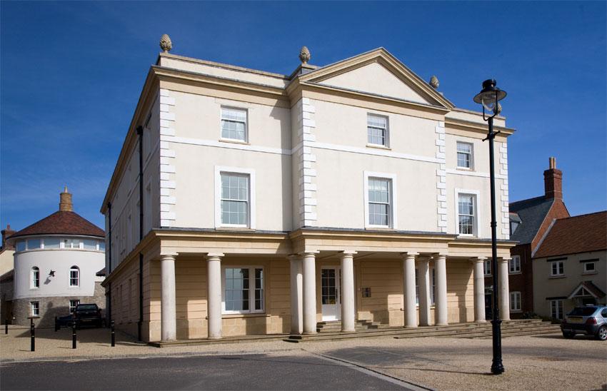 Poundbury Office Building The Dorset Guide
