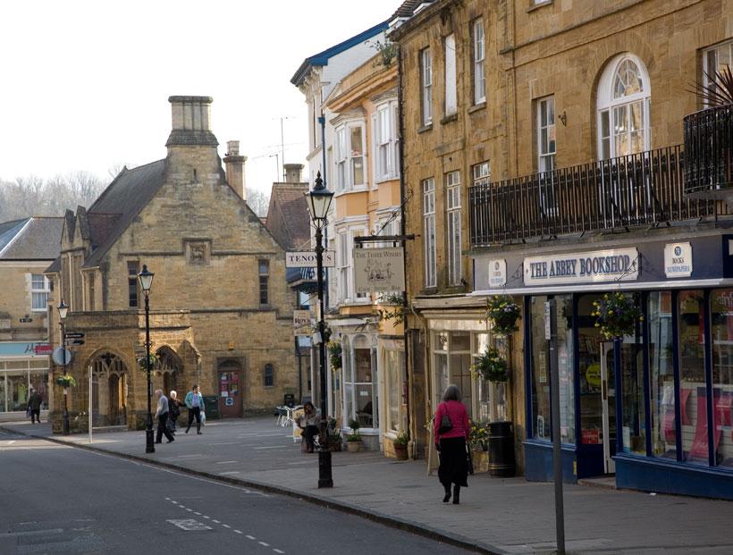 Sherborne Town Centre - Photos of Dorset
