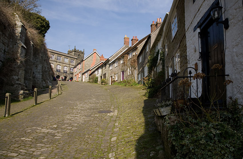 Gold Hill - Looking up