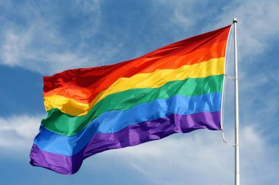 Rainbow flag - Gay Dorset