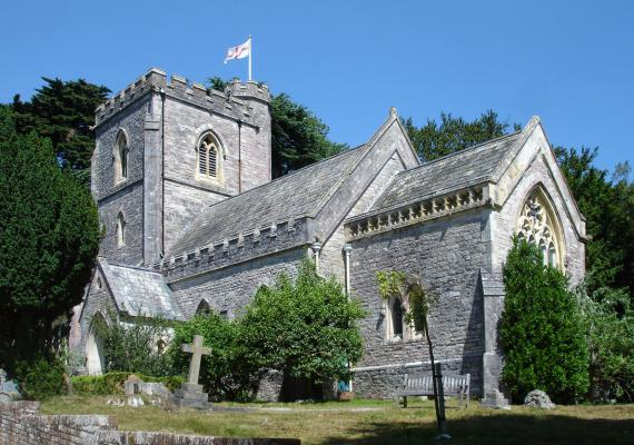 St Mary's Church - Brownsea Island