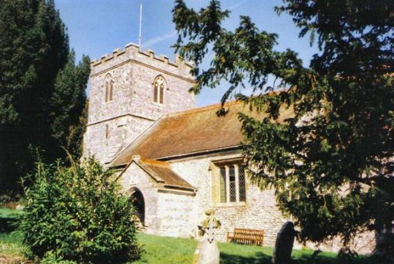 Milborne St. Andrew church