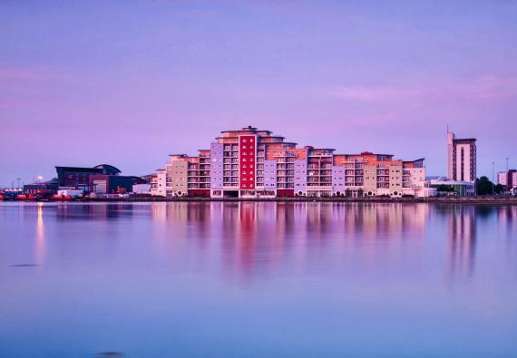 Poole Harbour skyline