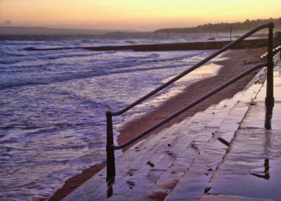 Alum Chine beach