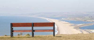 Chesil beach view