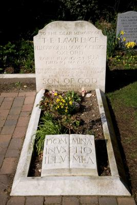 T.E. Lawrence grave