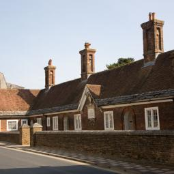 Almshouses in Blanford Forum