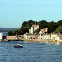 Brownsea Island - Castle and Piers
