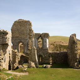 Corfe Castle - The Gloriette