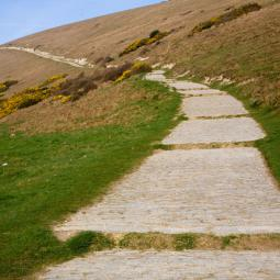 Coast Path out of Lulworth