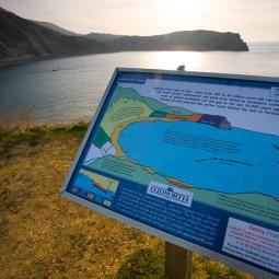 Lulworth Cove - Art imitates nature!