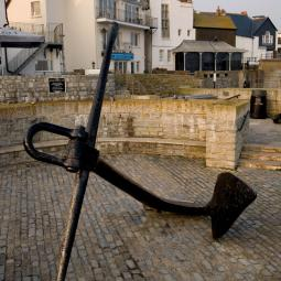 Lyme Regis Anchor