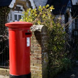 Red Letterbox - Puddletown