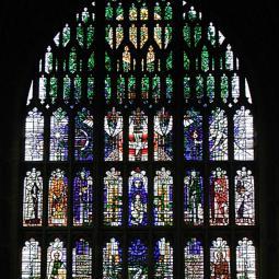 Great West Window - Sherborne Abbey