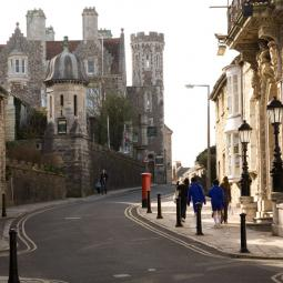 High Street and Purbeck House - Swanage