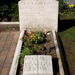 Grave of T.E. Lawrence (Lawrence of Arabia)