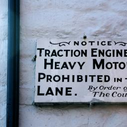 No Traction Engines!