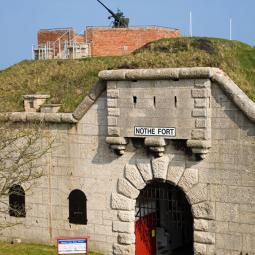Nothe Fort Entrance