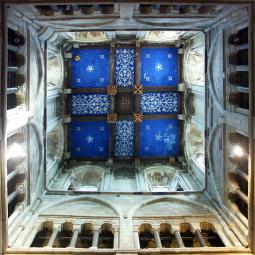 Wimborne Minster Tower Ceiling