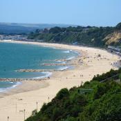 Canford Cliffs Beach