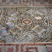 Mosaic - Roman Town House, Dorchester