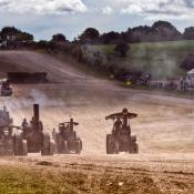 Great Dorset Steam Fair - Tractor Racing