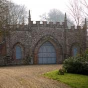 Bindon Abbey Gothick Gatehouse