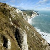 Purbeck Coast Cliffs
