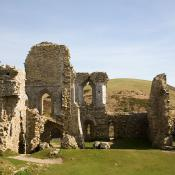 Corfe Castle - The Gloriette