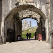 Corfe Castle Entrance