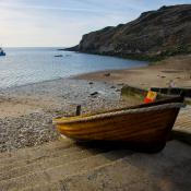 Lulworth Cove Boat