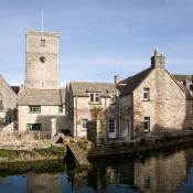 Swanage Mill Pond and Church