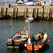 West Bay Fishing Boats