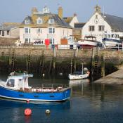 West Bay Harbour and Church
