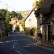 West Lulworth Village