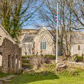 Tyneham - ghost village - MOD