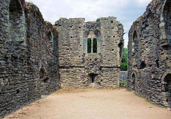 Christchurch Castle - Norman House interior