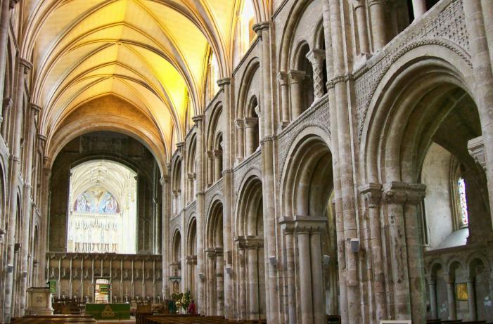 Christchurch Priory interior