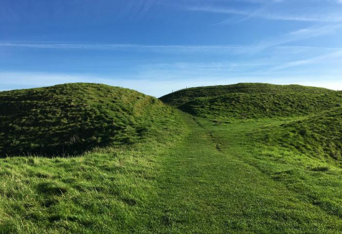 Maiden Castle - Dorchester