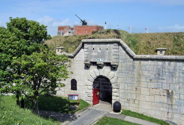 Nothe Fort entrance - Weymouth