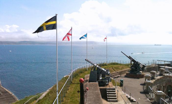 Nothe Fort guns