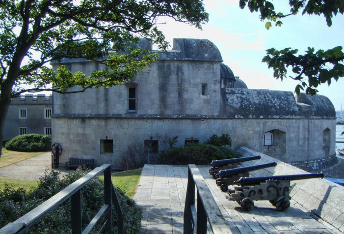 Portland Castle artillery battery
