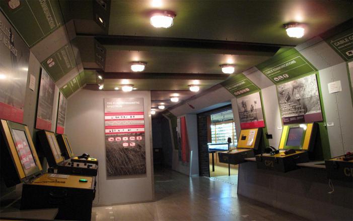 Royal Signals Museum - Interactive displays