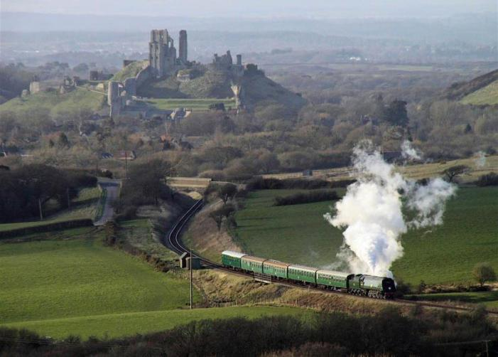 Swanage Railway - Corfe Castle
