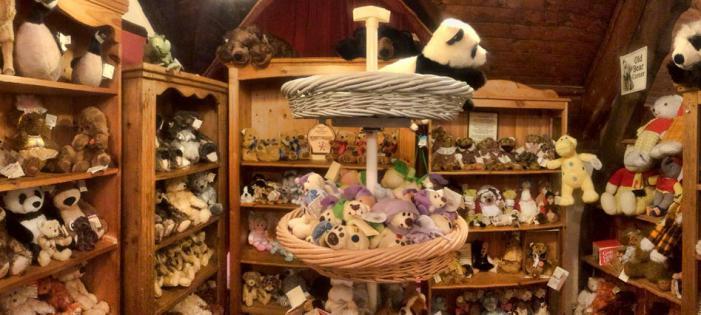 Teddy Bear Museum shop