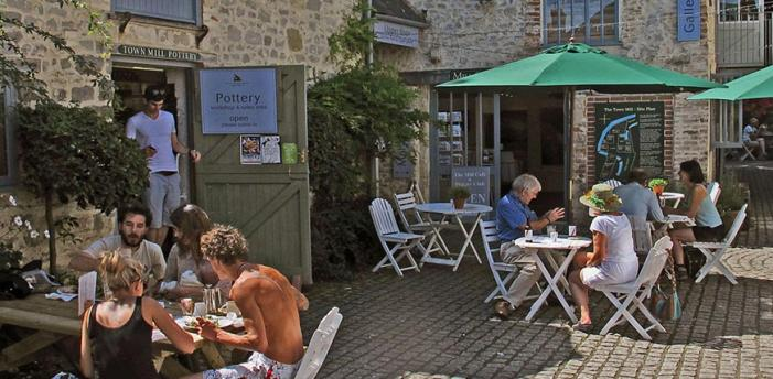 The Courtyard Cafe - Town Mill - Lyme Regis