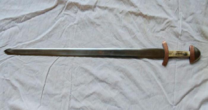 Wareham Museum Saxon sword