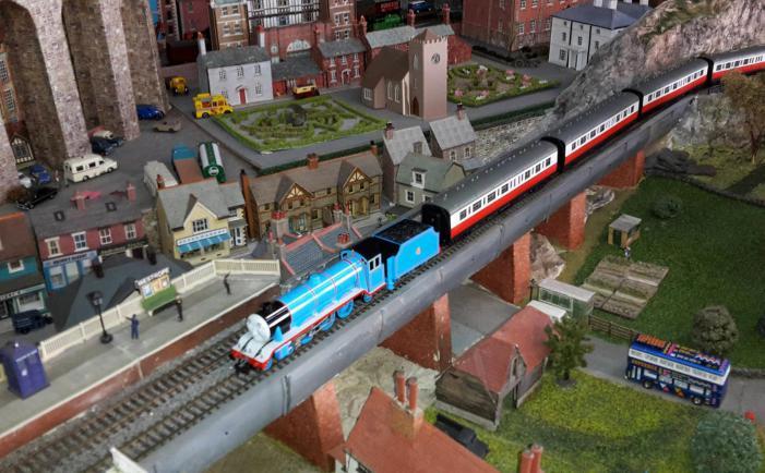Wimborne Model Town - Railway