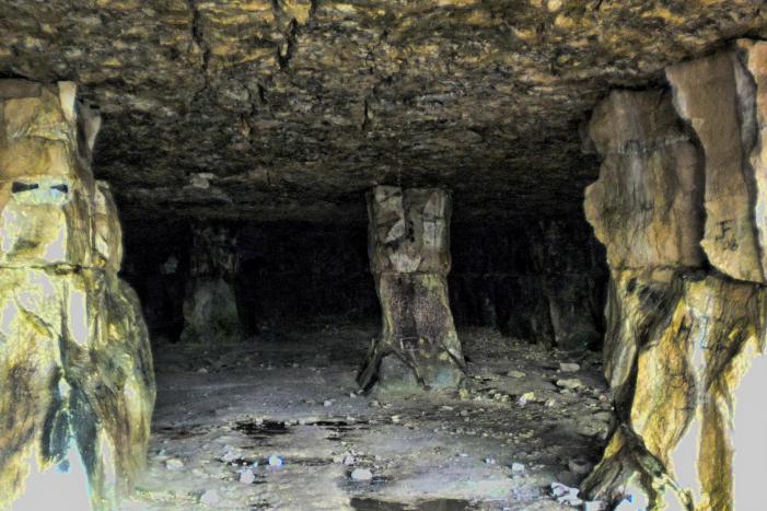 Winspit Quarry cavern
